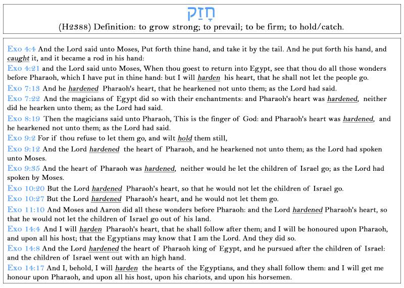 exodus exegesis 1